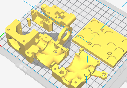 photo relating to Prusa Printable Parts titled Prusa i3 MK2 Extruder 3D Published Components - Open up Resource Ecology