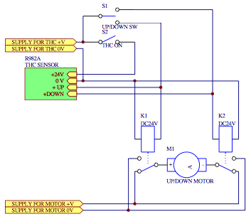 Relay Control Schematic