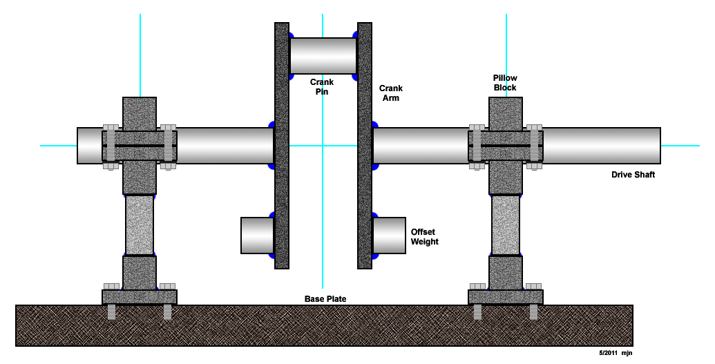 Steam Engine Design  Crankshaft