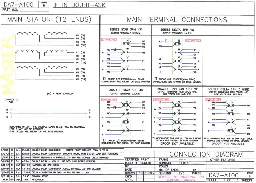 12 Lead 480v Motor Diagram  Engine  Wiring Diagram Images