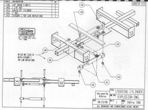 Sample fabrication drawing open source ecology directly related to tractor ccuart Choice Image